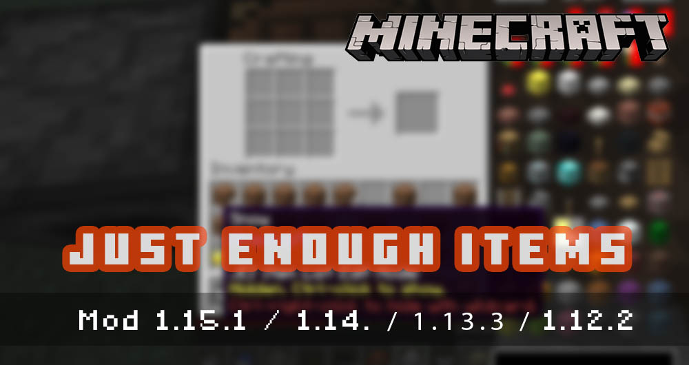 Just Enough Items [Mod]