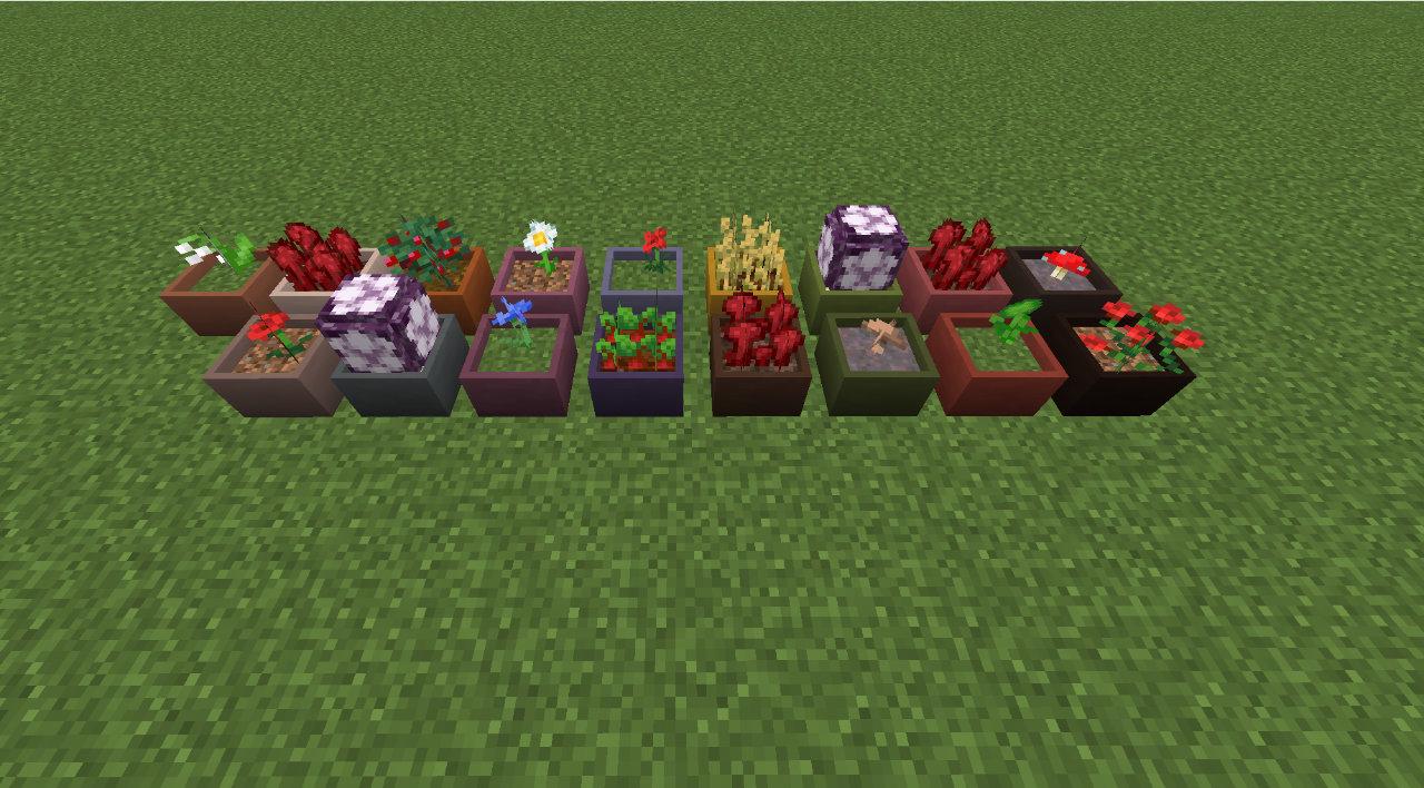 Botany Pots [MOD]